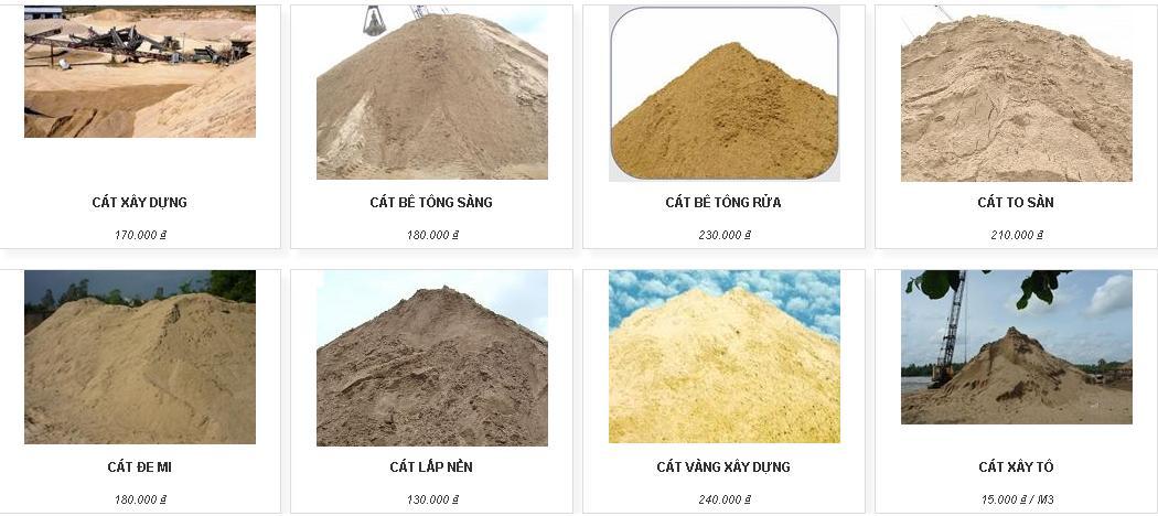 Cung cấp sản phẩm cát xây dựng cho các công trình - Unlawreports.com