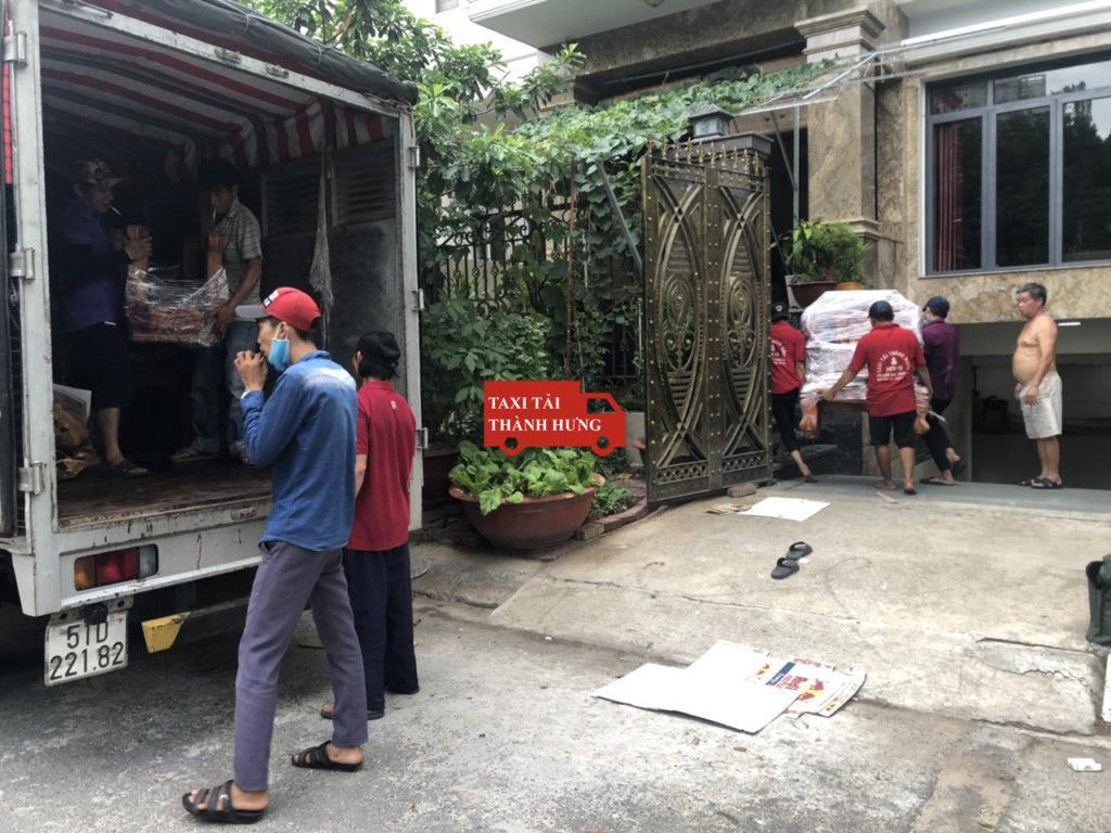 chuyển nhà thành hưng,Taxi tải Thành Hưng uy tín quận 6