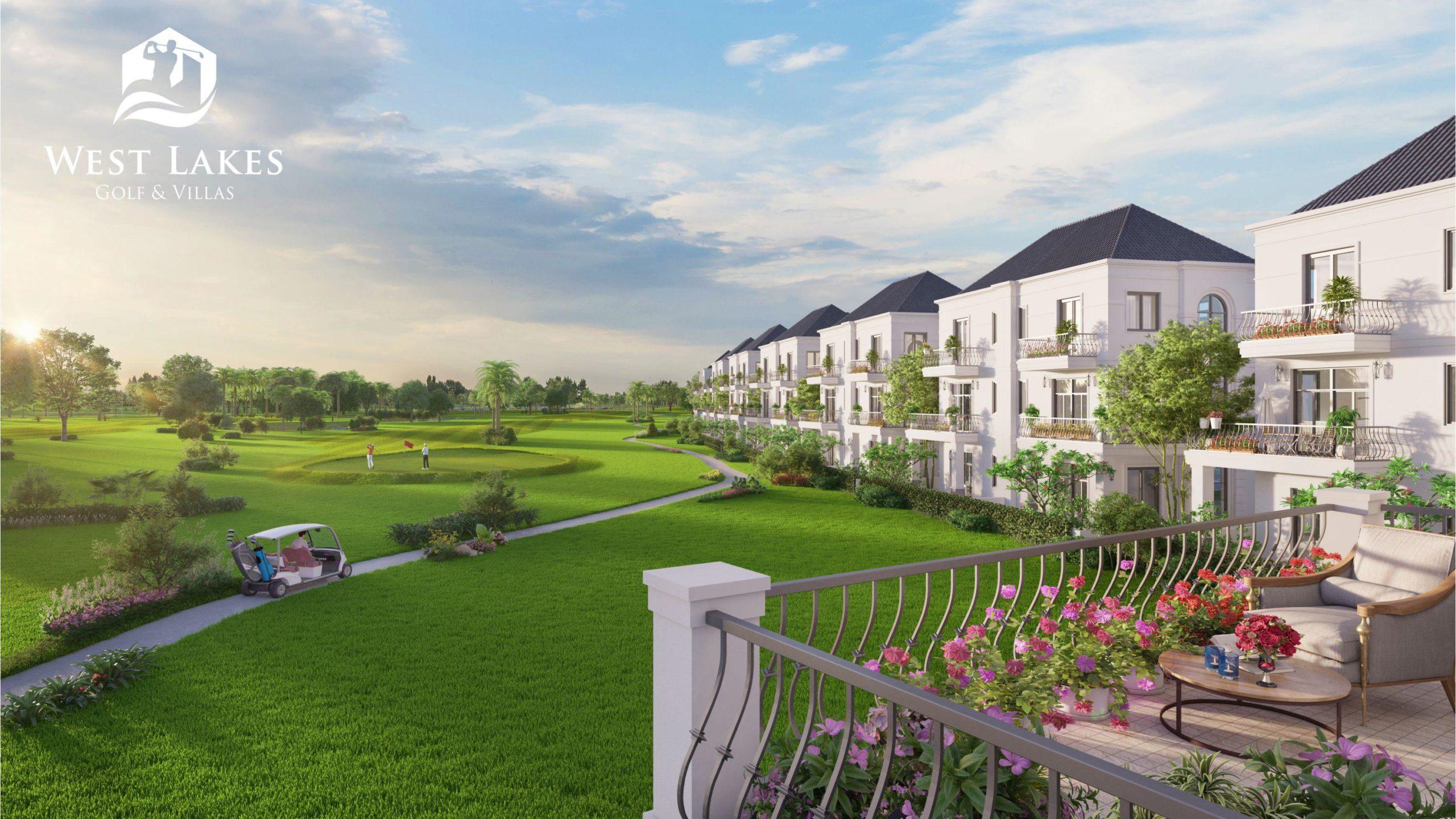 Thông tin về dự án biệt thự nghỉ dưỡng West Lakes Golf & Villas