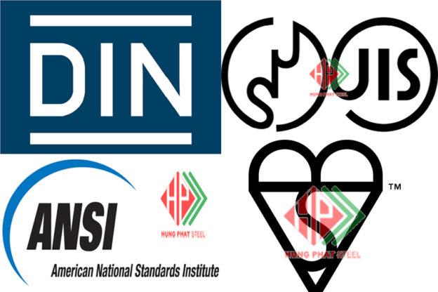Tiêu chuẩn JIS - BS - DIN - ANSI