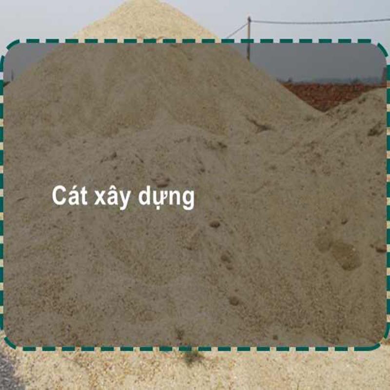 Giá cát xây dựng hoàn thành dịch vụ nhanh