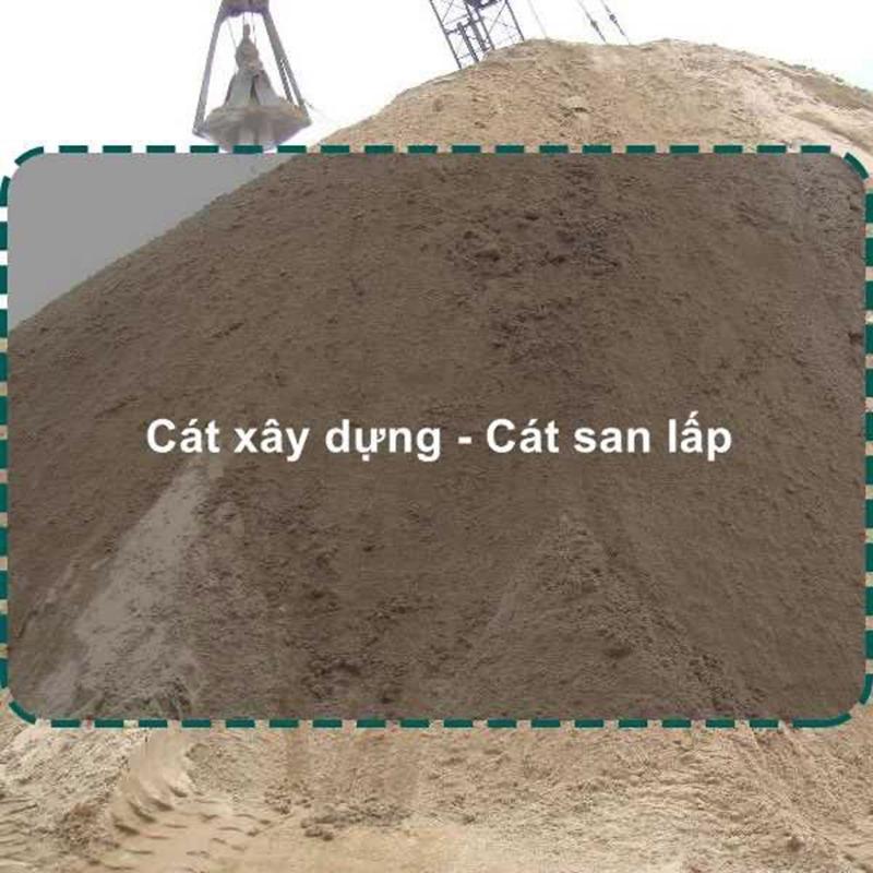 Giá cát san lấp hoàn thành dịch vụ nhanh